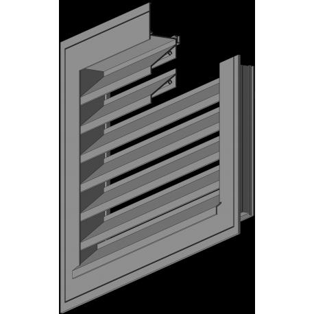 grilles lames ventelles sdmi boutique. Black Bedroom Furniture Sets. Home Design Ideas
